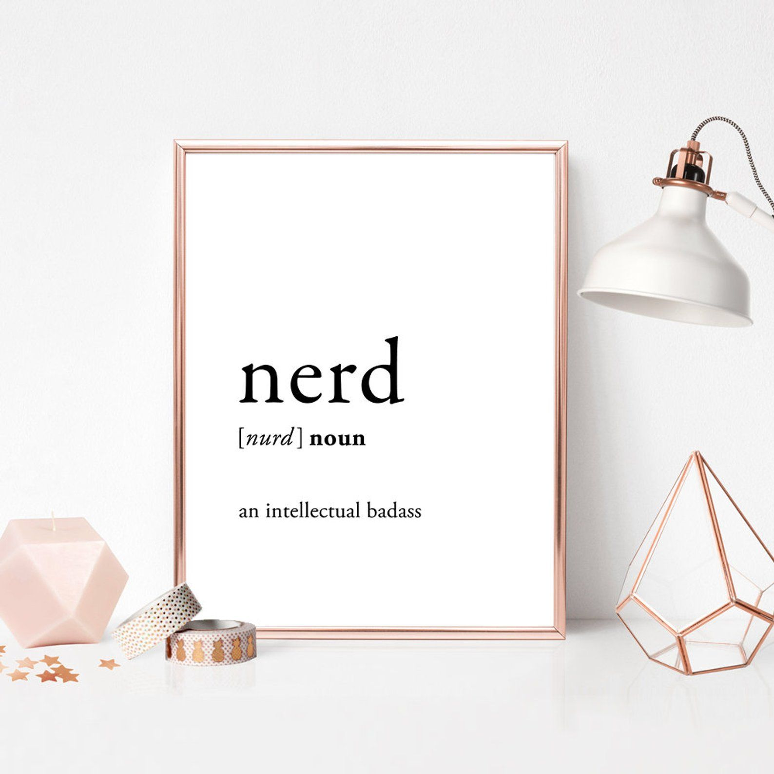 Nerd Wall Decor Nerd Definition Art Nerd Dictionary Etsy Definition Art Typographic Print Nerd Definition