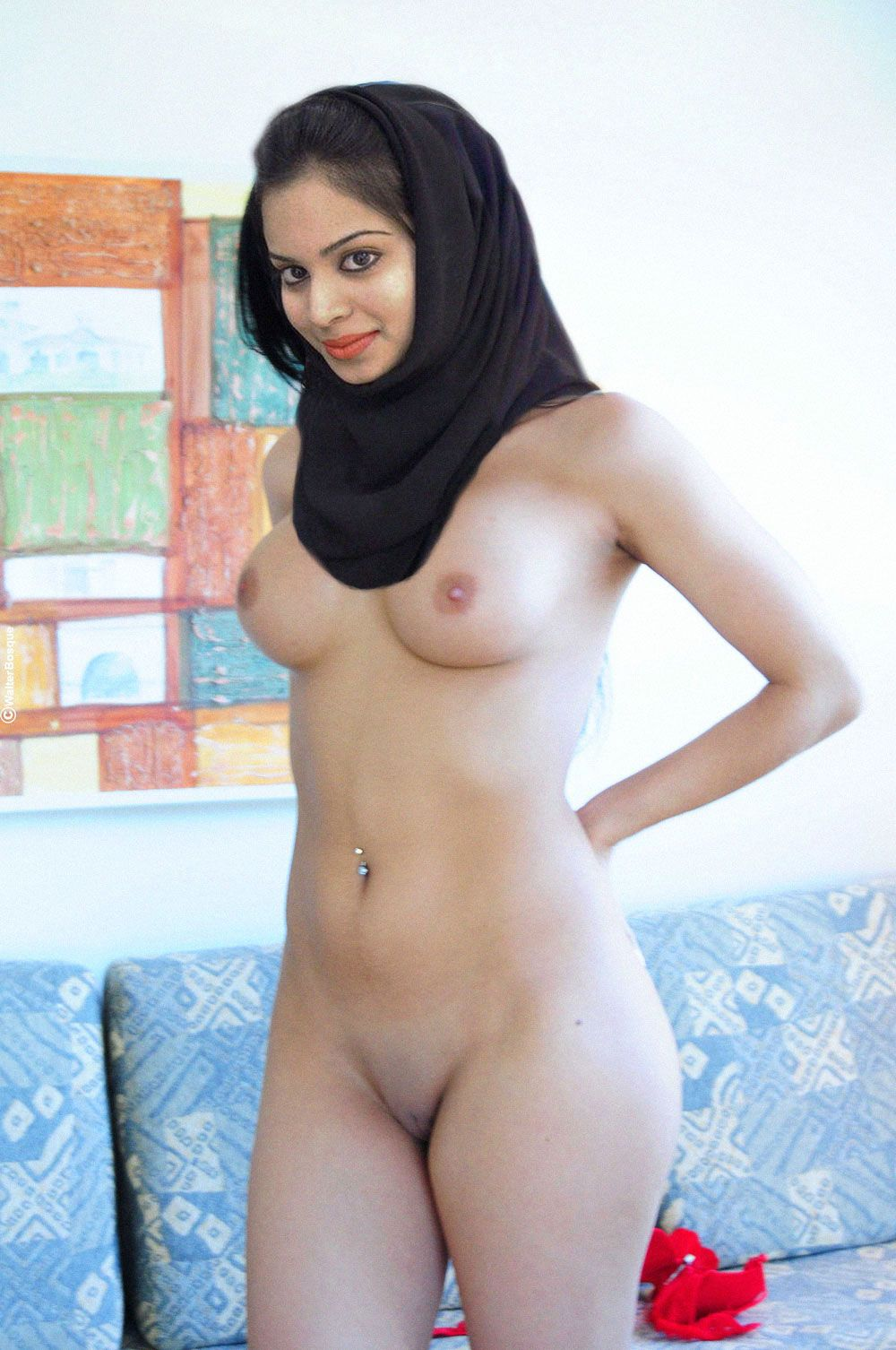 nude muslim women in the hijab