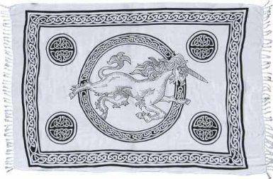 Celtic Unicorn Sarong: Amazon.com: Clothing