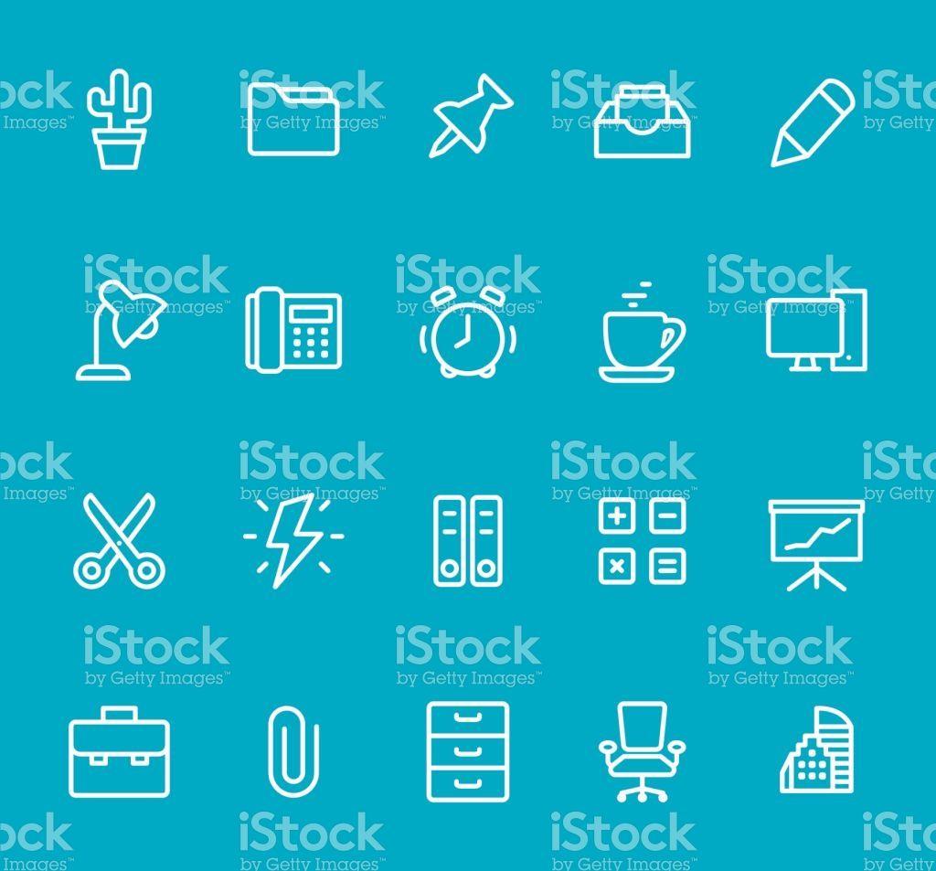 Pixel Perfect Isolated On Blue Icon Set Icon Set Education
