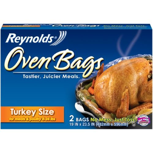 Reynolds Oven Bags, 2 Ct, Multi | Oven bags, Turkey size ...