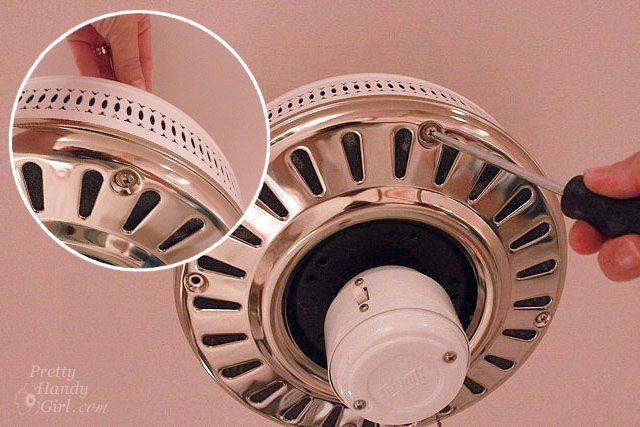 a $12 ceiling fan redo. | Gremlins, School and Ceiling fan