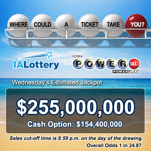 There's a lot on the line in tonight's Powerball drawing