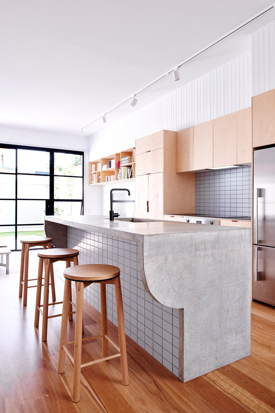 High House By Dan Gayfer Design Modern Kitchen