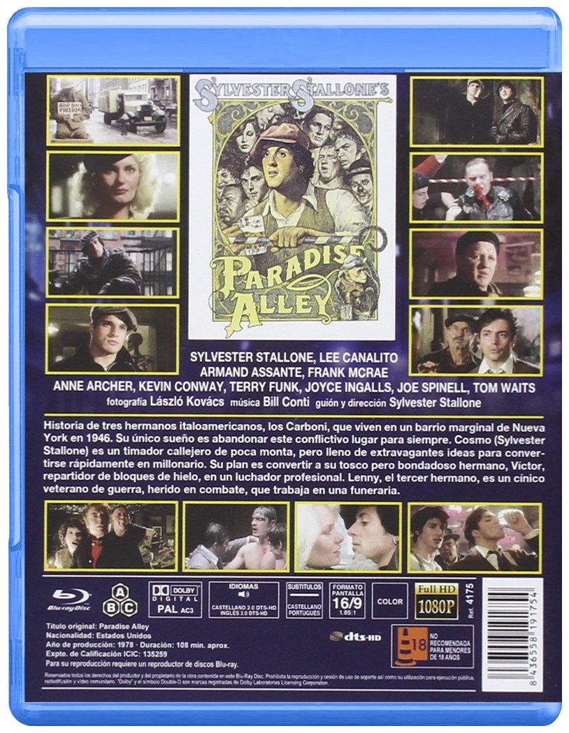La Cocina Del Infierno La Cocina Del Infierno Bd 1978 Paradise Alley Blu Ray Infierno