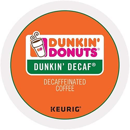 The Dunkin Donuts Dunkin Decaf Single Serve K-Cup Pods