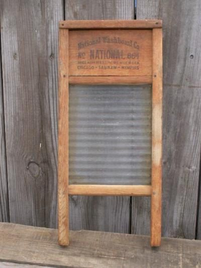 I Had An Antique Washboard Just Like This Bought It From An Antique Store Glass Washboard Rustic Vintage Decor Washboard