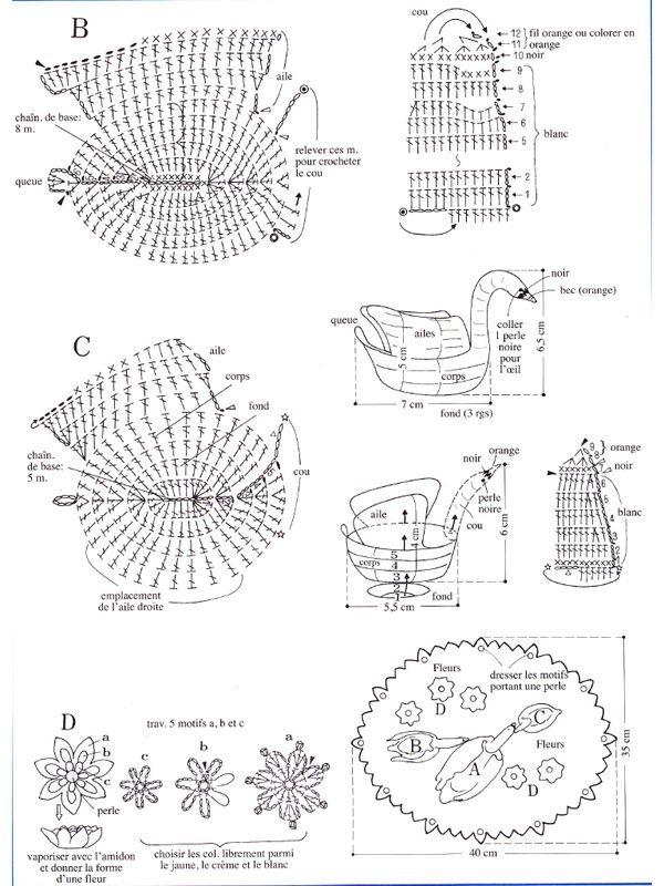 Pdf Gratuits Tutoriel De Crochet Le Cygne Modèles De