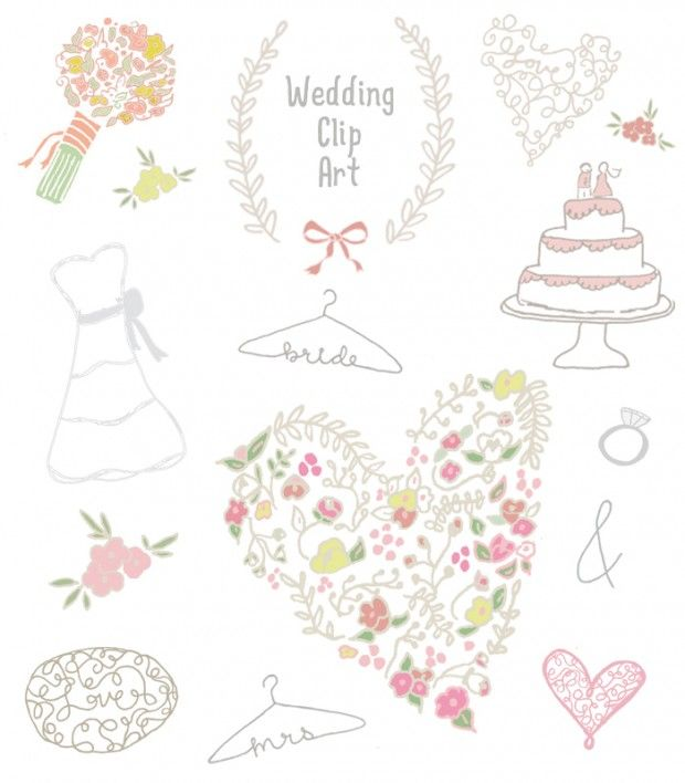 Wedding Clip Art Free Is Available In Plenty Selections With Different Meanings For Your Cartoon Also Good Choice