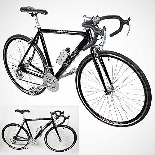 New 54cm Aluminum Road Bike Racing Bicycle 21 Speed Shimano Black Co Bicycle Race Bicycle Road Bike