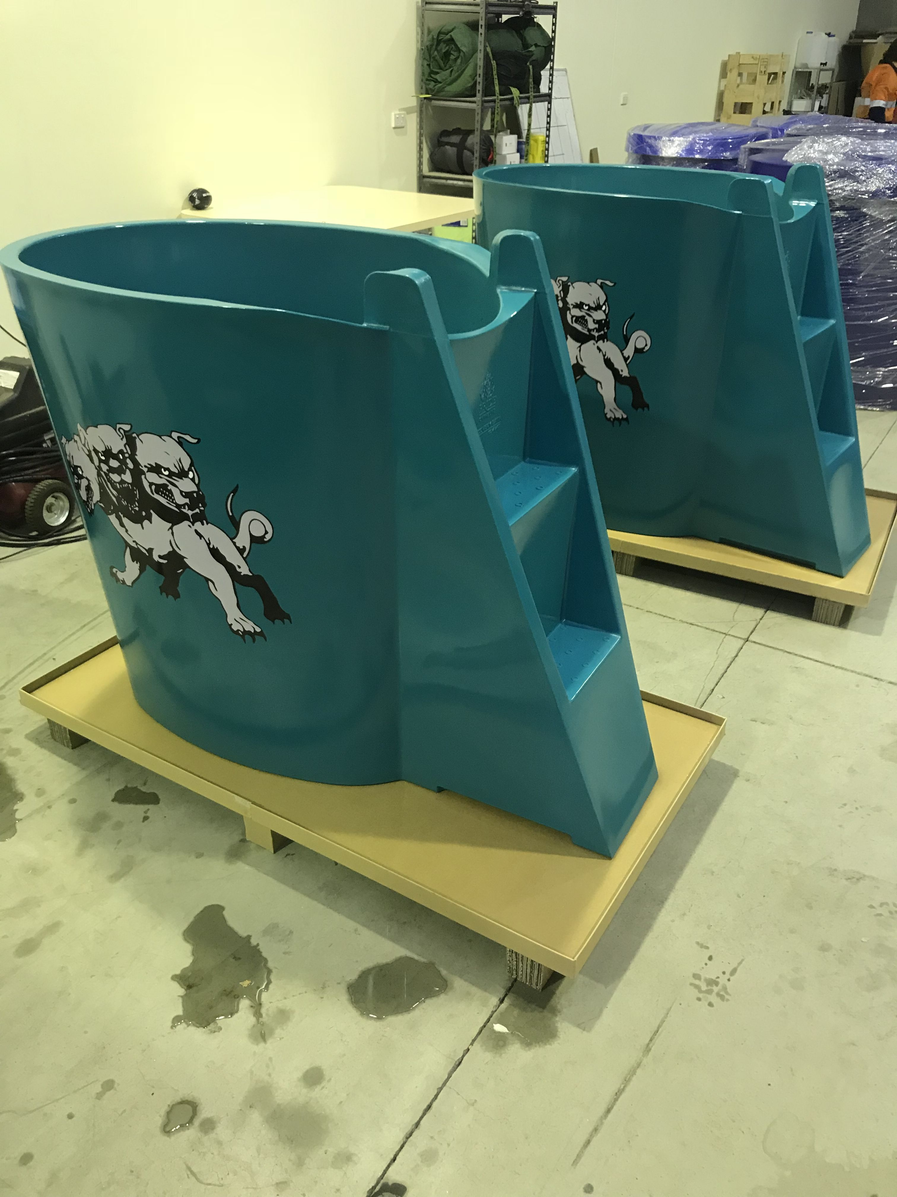 Customised athlete ice baths ice bath recovery ice