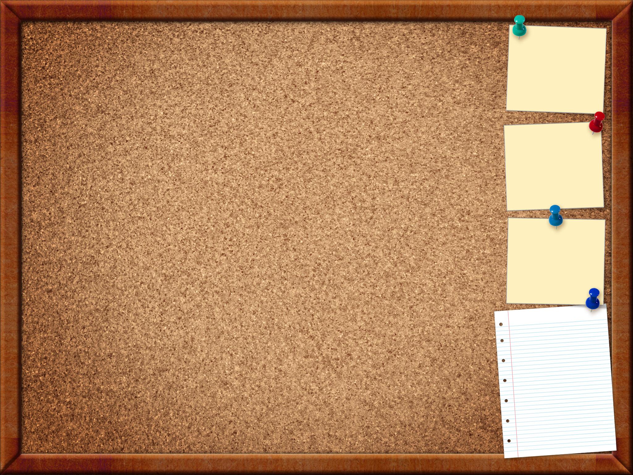 Beautiful Cork Board Template Gallery - Example Resume Ideas ...