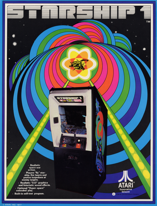 Starship 1 Arcade, Arcade video games, Atari
