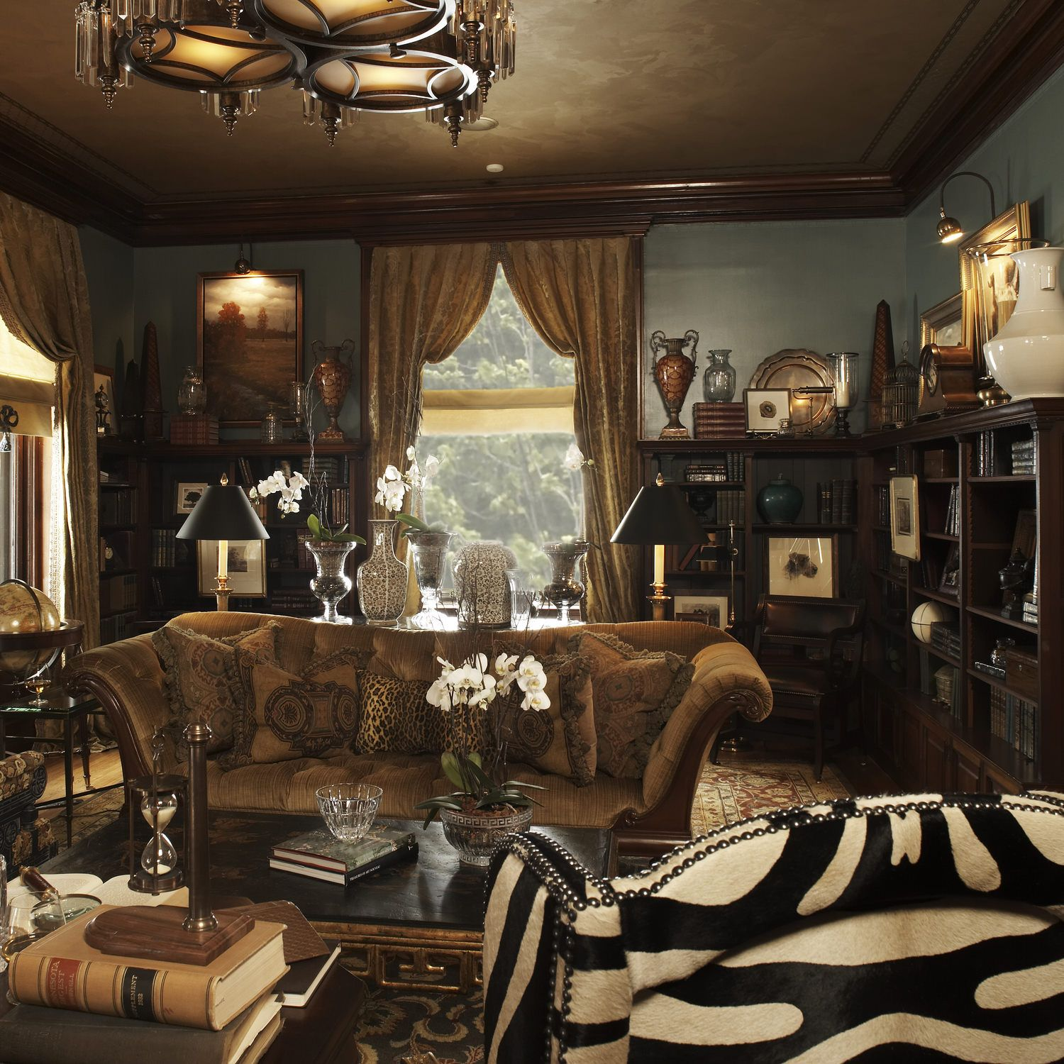 Traditional Living Room, Chill Out
