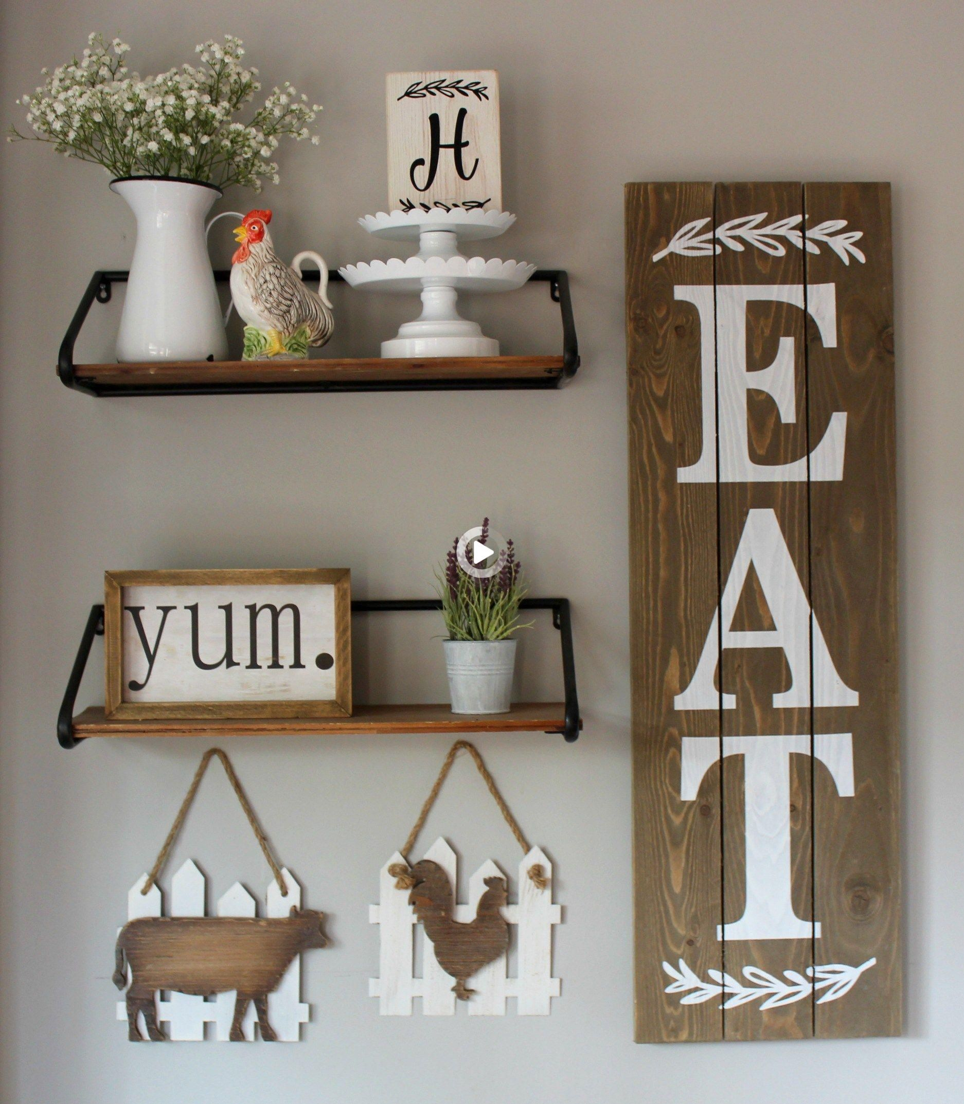 Redirecting In 2021 Kitchen Wall Decor Farmhouse Farmhouse Kitchen Wall Decor Kitchen Wall Decor Country kitchen wall decorations