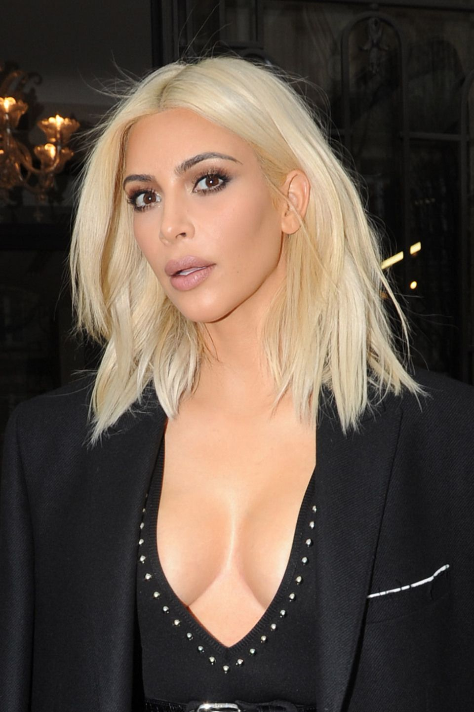 Kim Kardashian Reveals The Surprising Reason She Dyed Her Hair Blonde Deets On And
