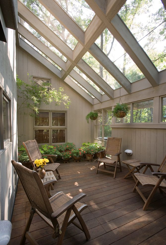Sunroom Furniture Porch Traditional With Glass Ceiling Enclosed