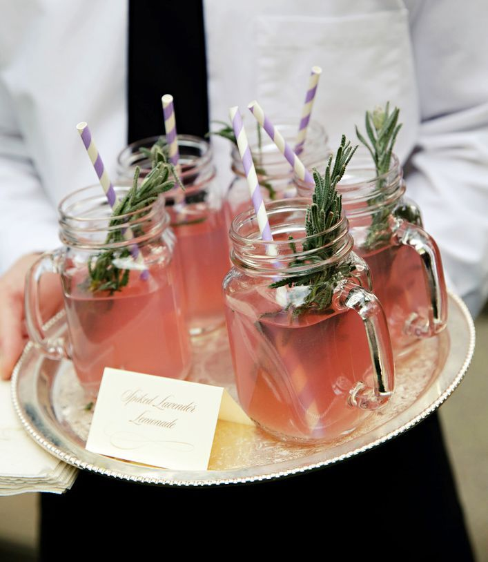 8 Herb Infused Signature Wedding Cocktails We Want Right