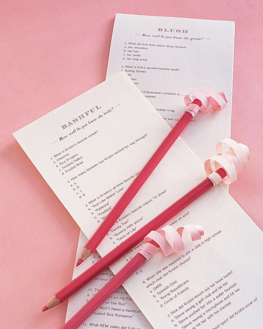 Bridal Shower Games And Activities That Are Actually Fun