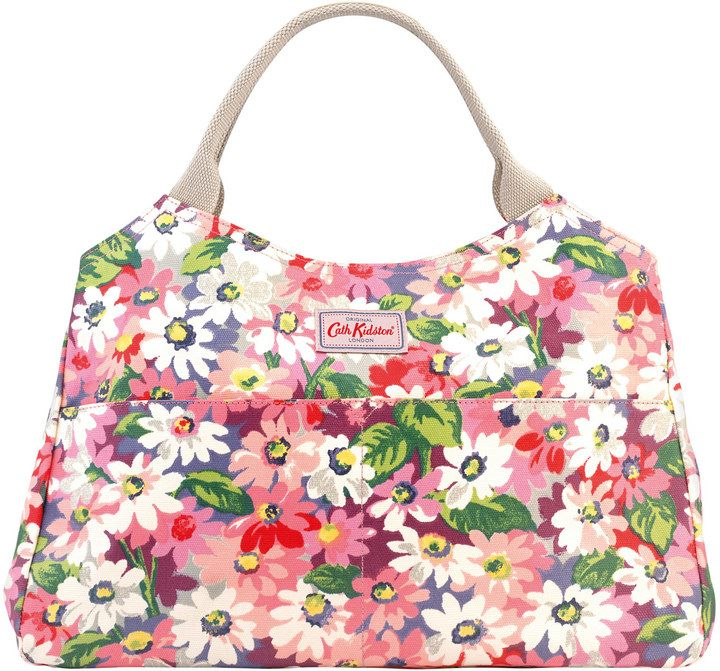 Painted Daisy Open Tote