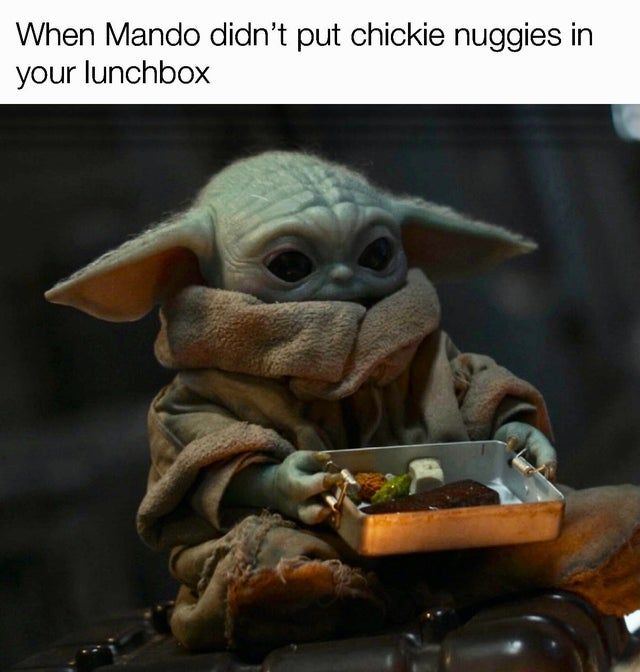 No Eggies Either Babyyoda In 2020 Star Wars Characters Pictures Star Wars Humor Funny Star Wars Memes