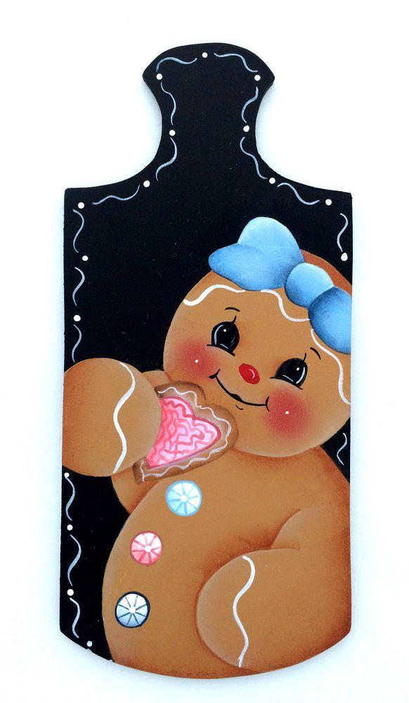 HP FRIDGE MAGNET Ginger on a mini bread board ebay downsilverpath