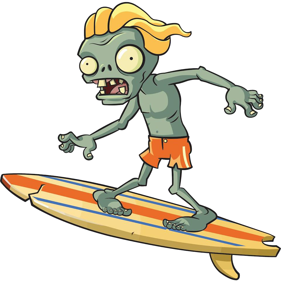Zombi surfero (Plants vs Zombis 2)