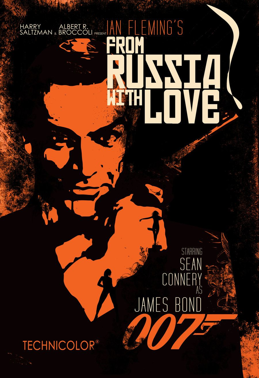 James Bond 2 From Russia With Love 1965 2 Jpg 900 1315 Love
