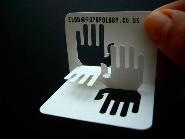 15 Cool Pop Up Business Cards Business Card Design Creative