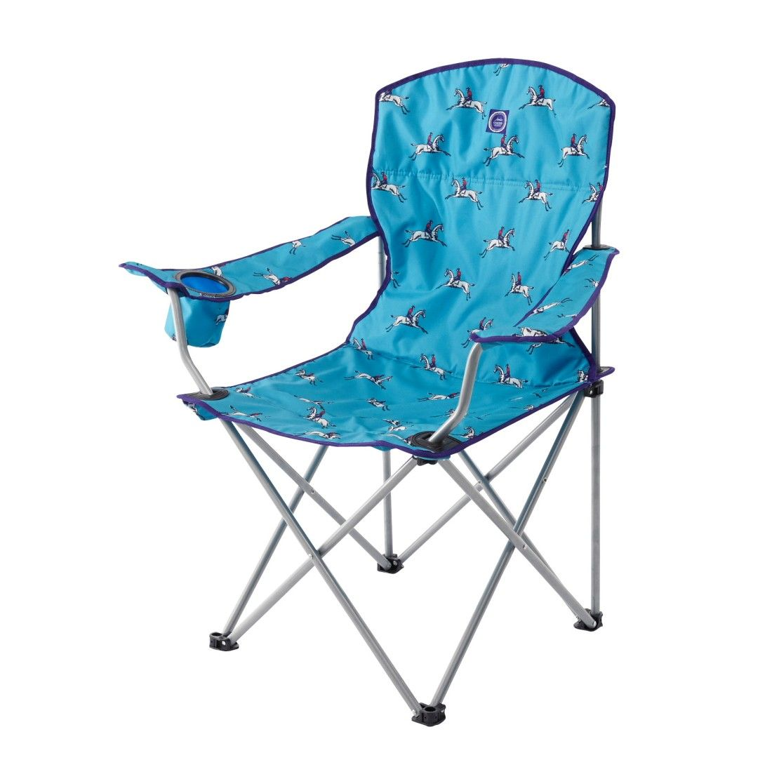 Joules Lazy Chair Aqua Horse Folding Chairs