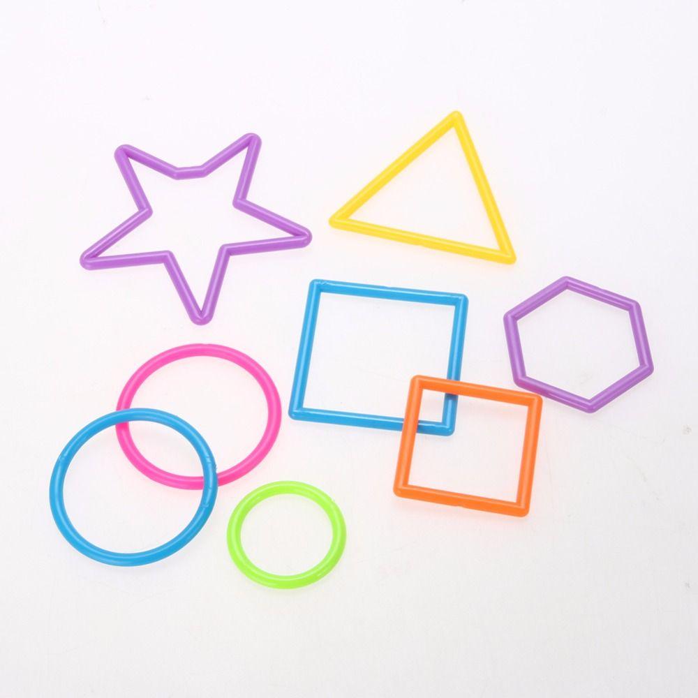 새로운 PE 플라스틱 조립 교육 스틱 장난감 스마트 빌딩 블록 스틱 블록 장난감 3 세 이상