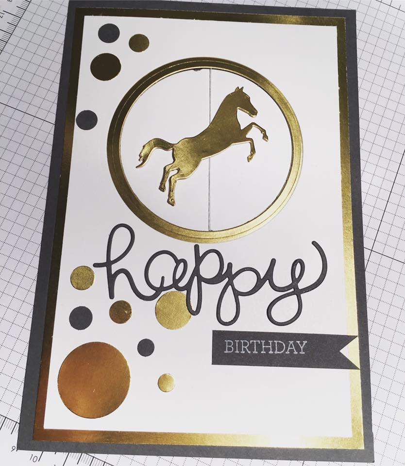 Meine Schwester, absolute Pferdenärrin, hat zum Geburtstag