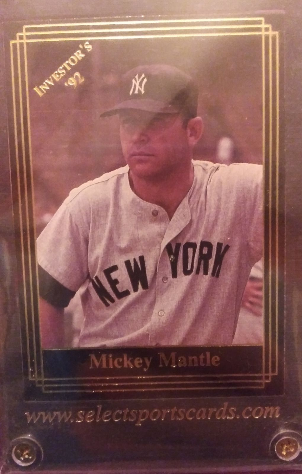 92 investors mickey mantle in mint condition mickey