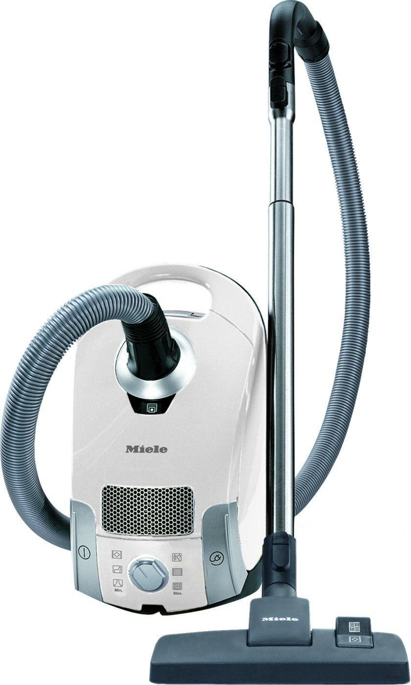 Miele Compact C1 Pure Suction Canister Vacuum Lotus White