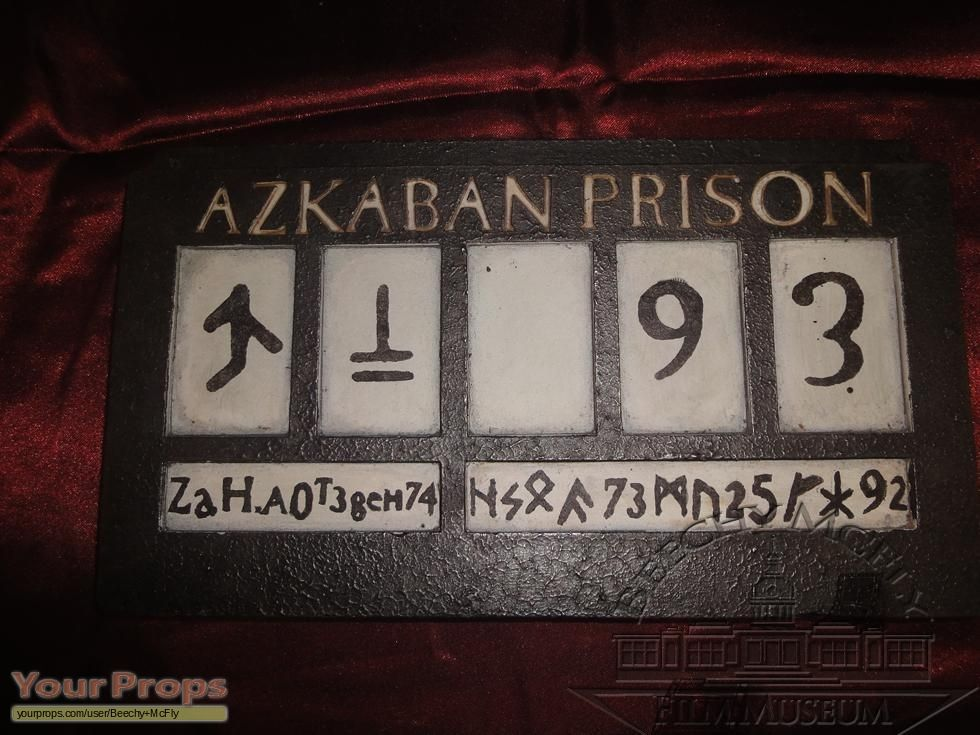 Bellatrix LeStrange's prison number. Will need this for