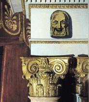 Bühnenportal des Schlosstheaters im Residenzschloss Ludwigsburg