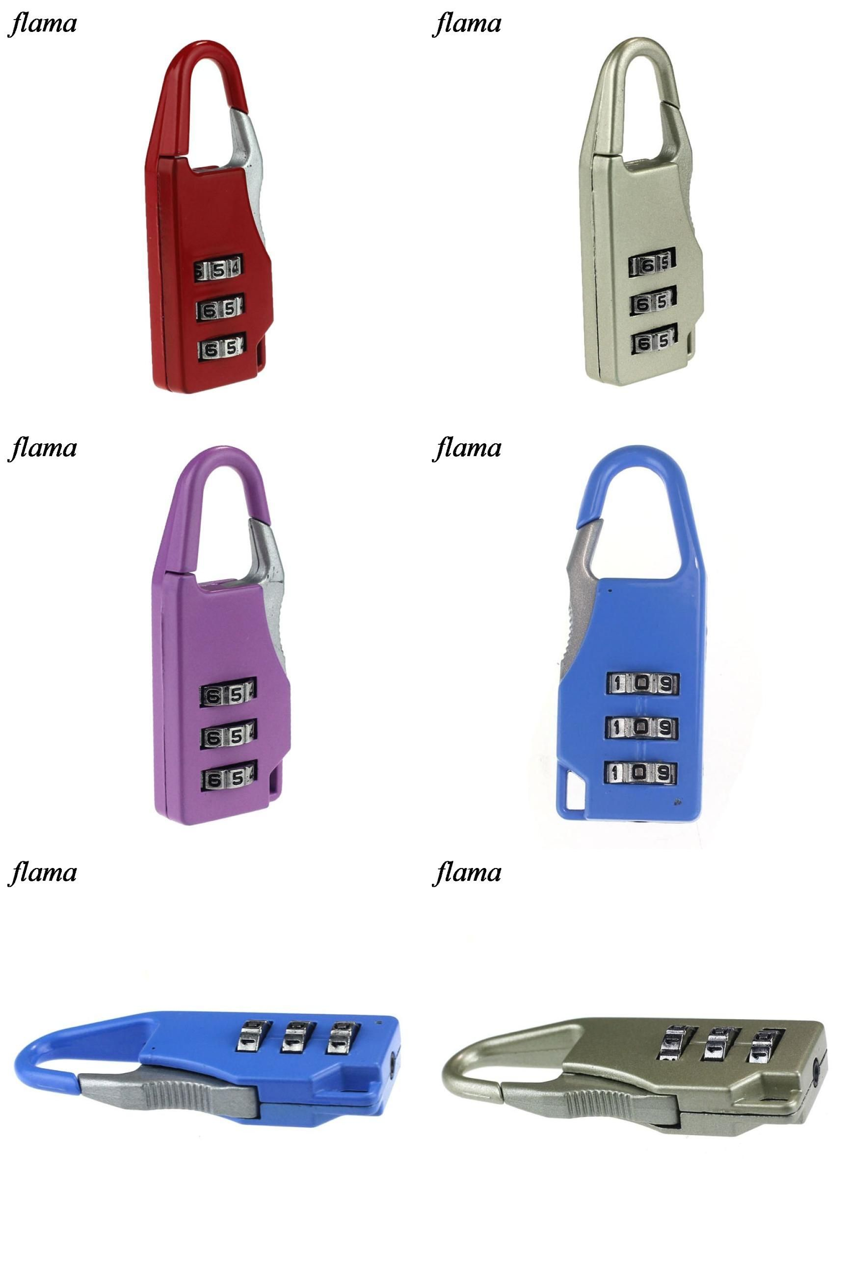 fcf1be5a0f75 Visit to Buy] TSA Resettable 3 Digit Dial Combination Travel ...