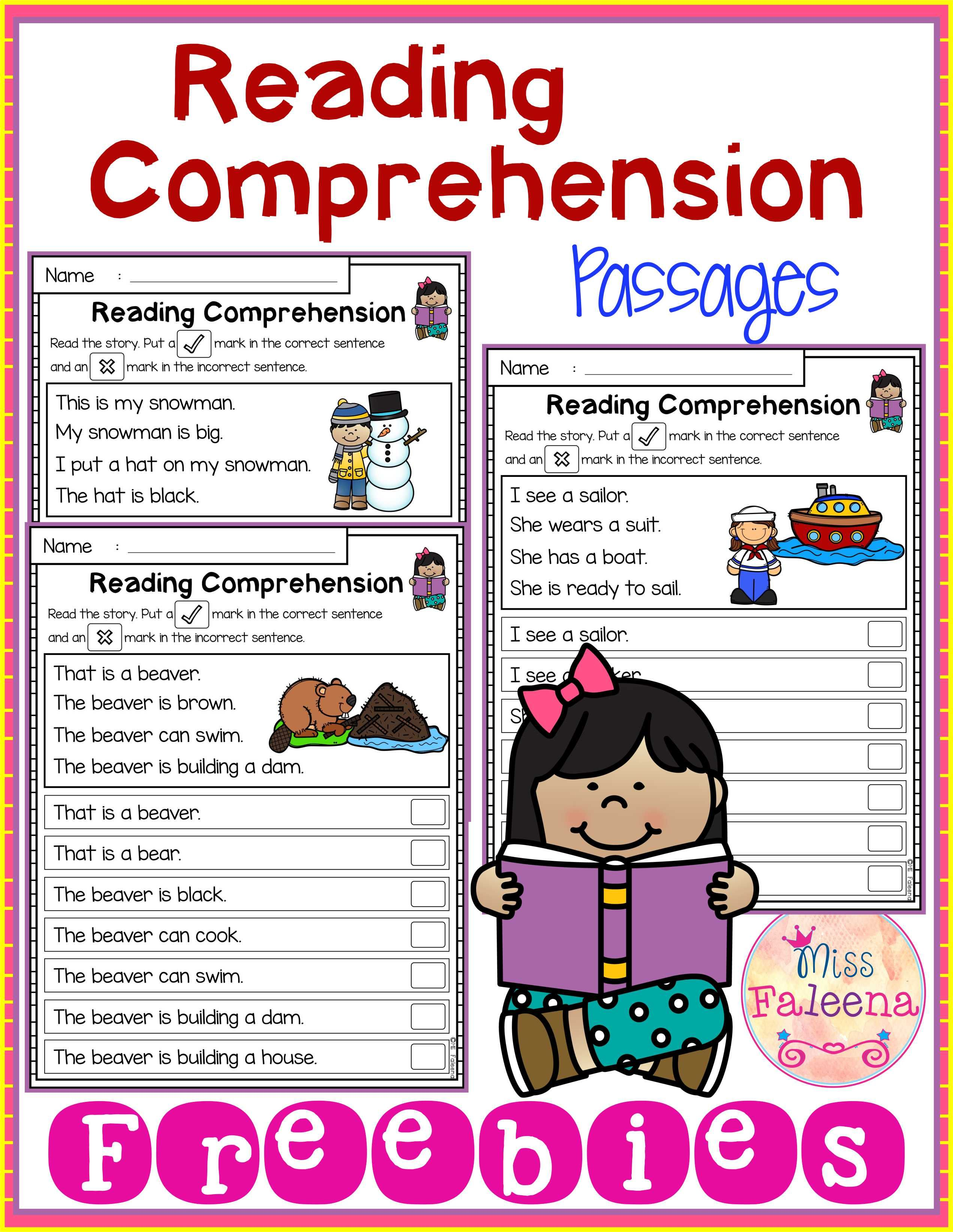 Free Reading Comprehension Passages Reading Comprehension Passages Comprehension Passage Reading Comprehension Passages Free [ 3286 x 2542 Pixel ]