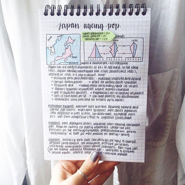 ☯✧ pinterest// @ : j a m i e :   n o t e s   Geography revision