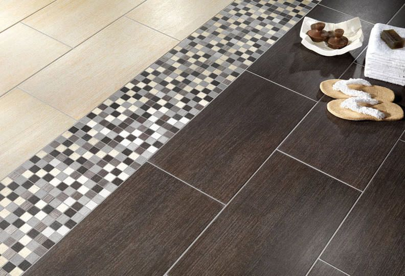 porcelain bathroom floor tile. Bathroom Porcelain Stoneware Floor Tile: Wood Look - MODUS Alfalux Tile