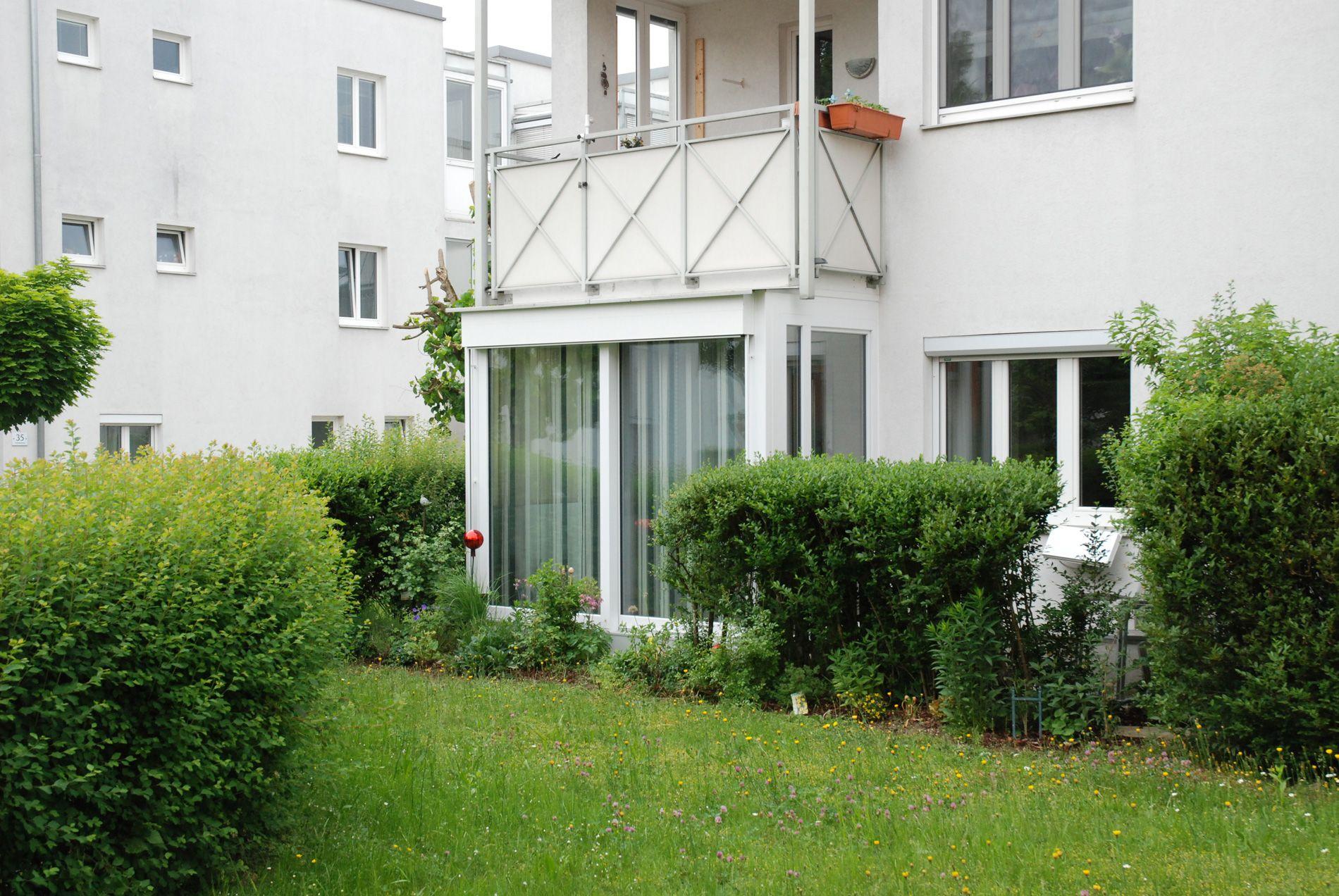 Fesselnd Kleiner Wintergarten Unter Balkon