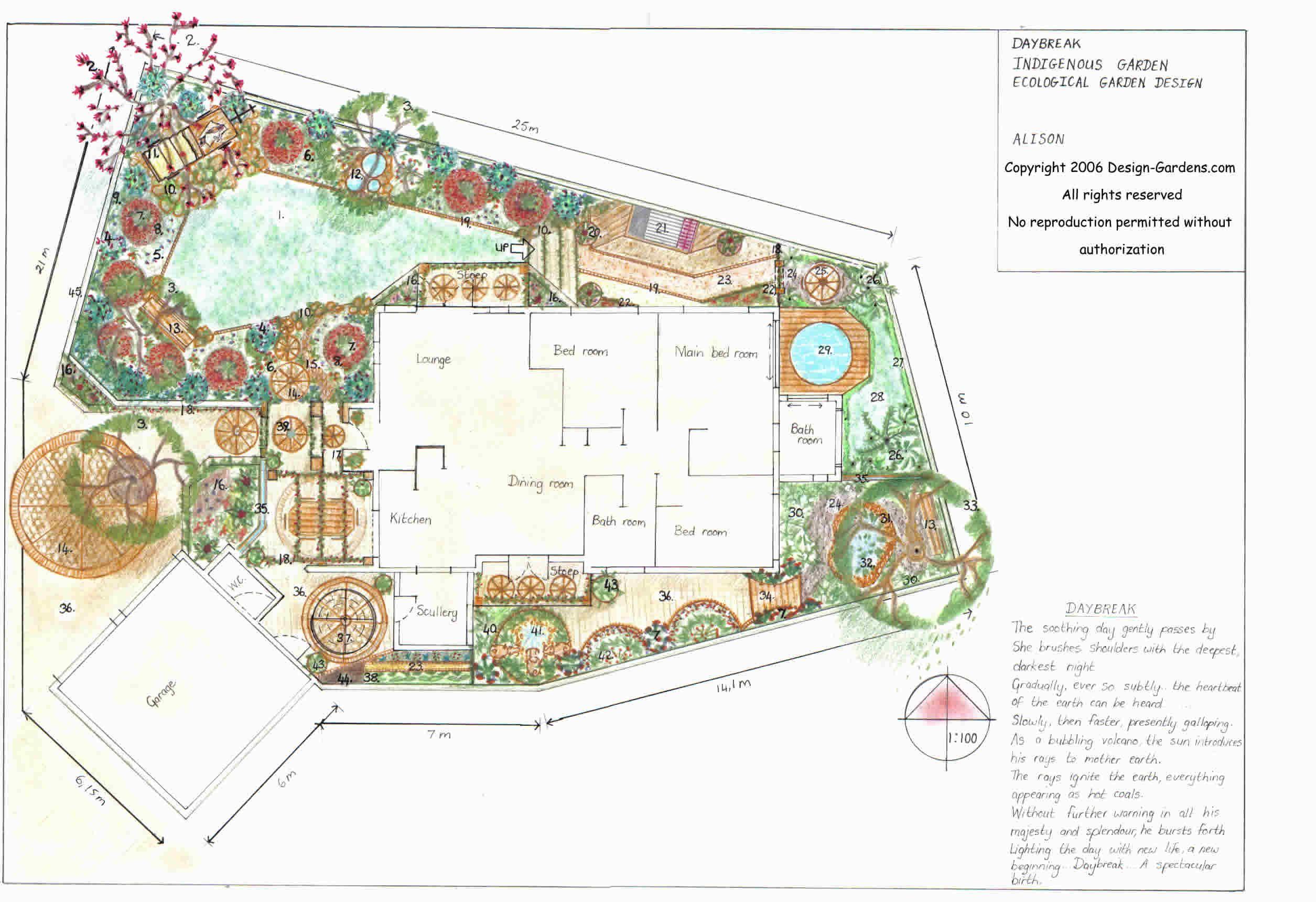 Garden Design With Garden Design Plans Gokitchen With Landscape