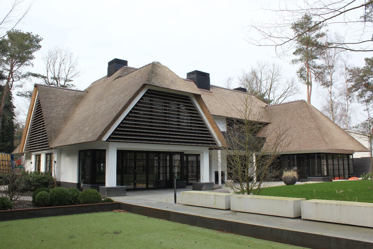 Delektro villa te bilthoven architecture in 2019 for Moderne bungalow architectuur