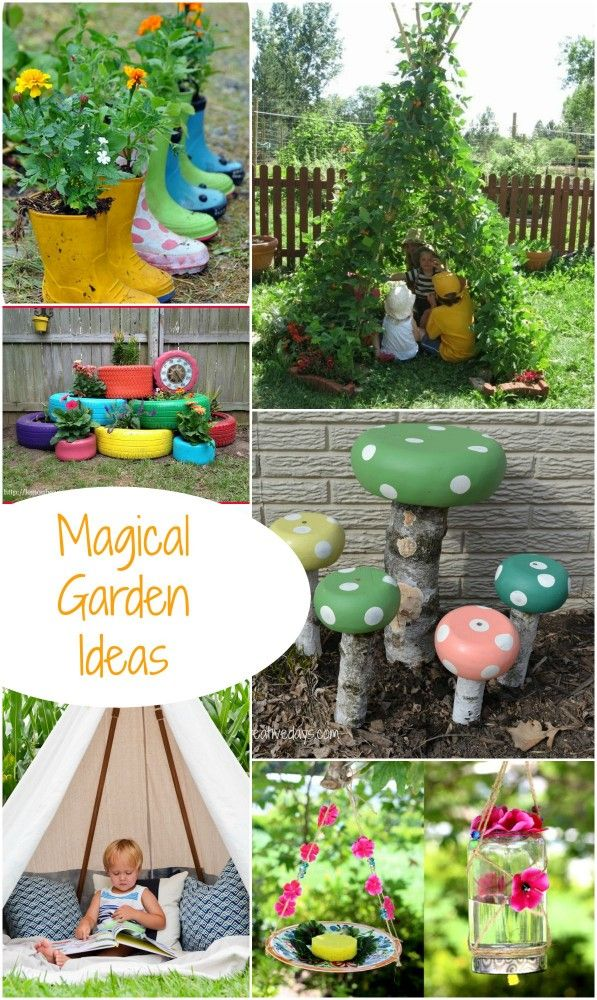 Turn your Garden into a Magical Play Space for children