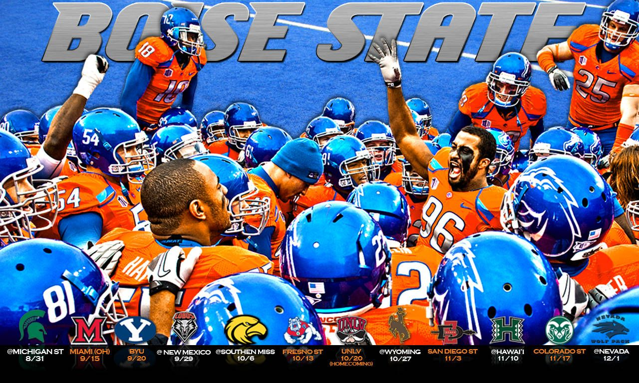 футбол 1 Wallpaper: Collection Of Boise State Football Wallpaper On