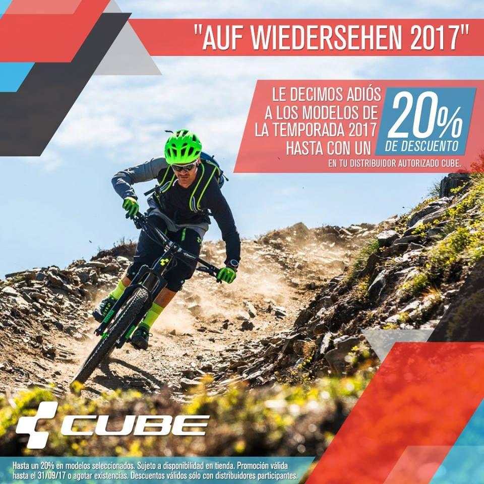 Empieza el cierre de temporada CUBE a despedirnos de los modelos 2017, hasta un 20% en modelos seleccionados de bicis y accesorios CUBE en los distribuidores participantes