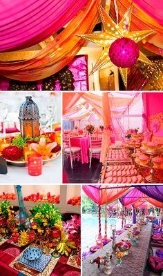 Decoraci n hind ii tematica indu fiestas hindu fiesta y fiesta rabe - Decoracion indu ...