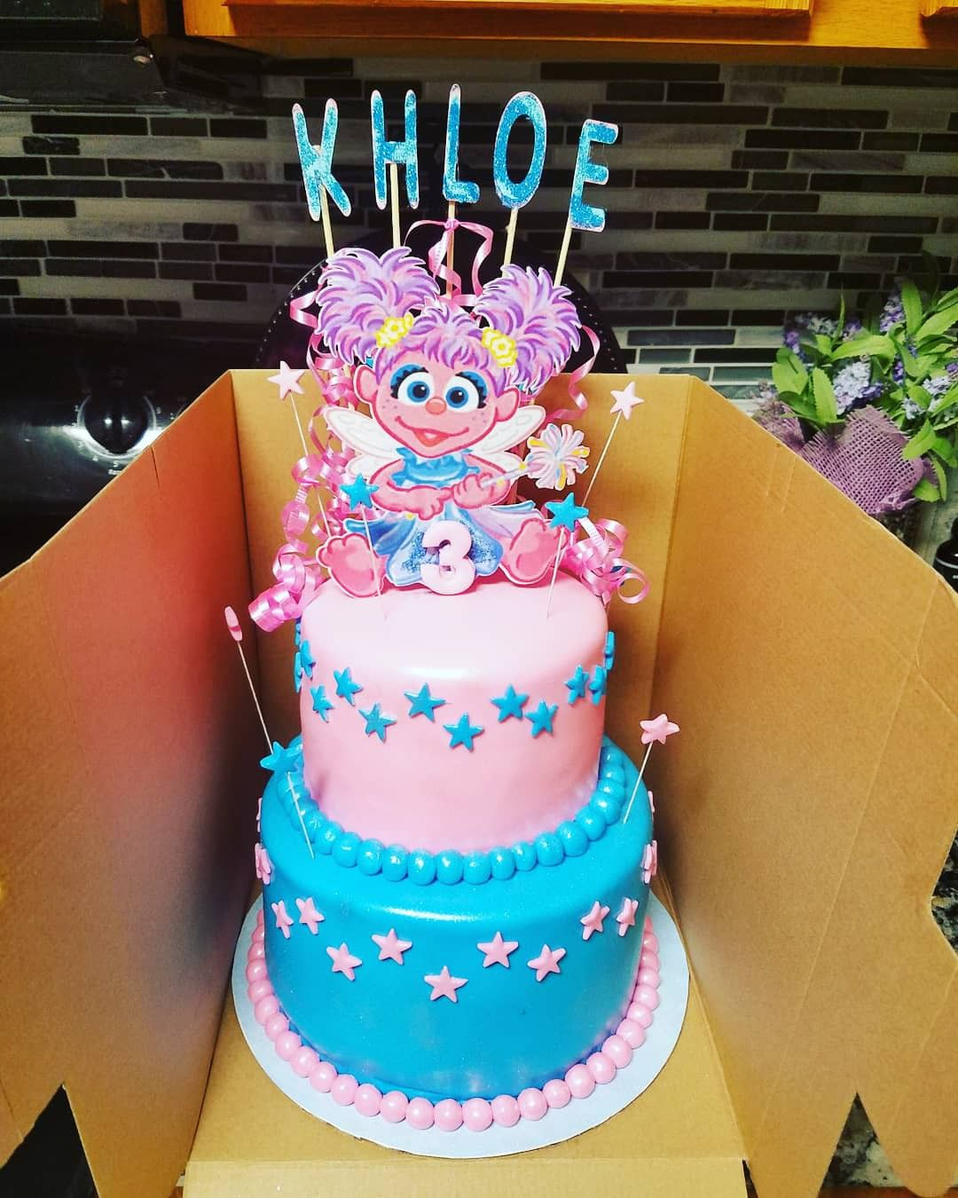 Abby Cadabby Birthday Cake With Images Sesame Street Birthday