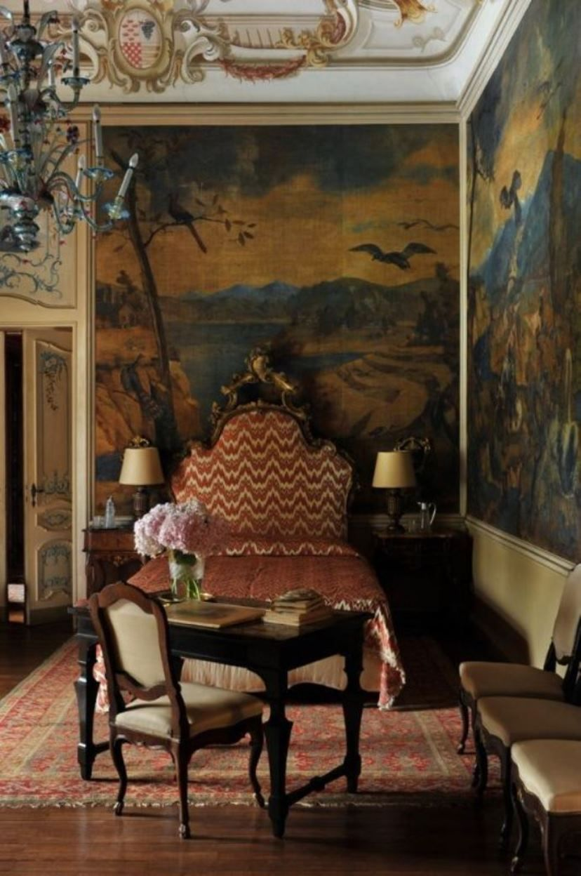 Castello Visconti Italian Style Villas Style Italian  # Timothy Hutton Muebles