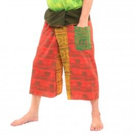 3/5 Bhaep Indien Tibet Style Pantalon paréo